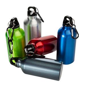 Bottiglie di alluminio con opzione di stampa a full color 360°