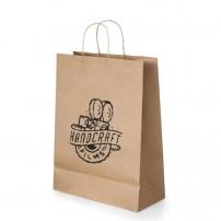 Bolsas de papel medianas para tiendas