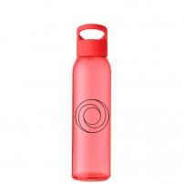 Botellas de cristal personalizadas con asa de diseño