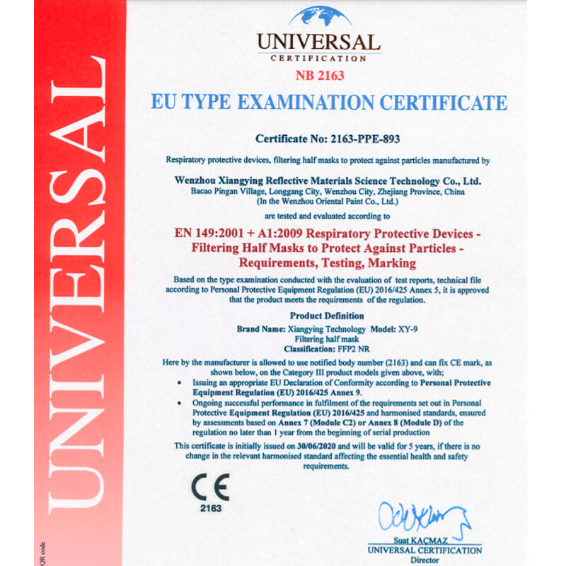 Mascherine nere FFP2 certificate CE (Economico)
