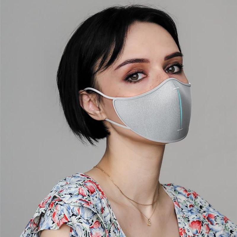 Mascherine riutilizzabili premium con 5 filtri extra