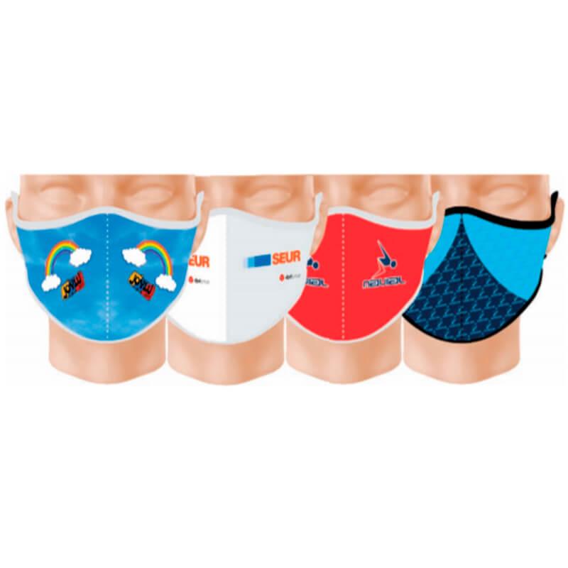 Mascherine personalizzate in neoprene antibatterica
