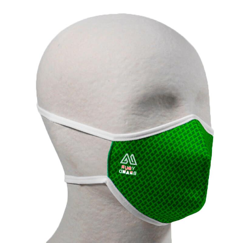 Mascherine personalizzate lavabili ecologiche RPET