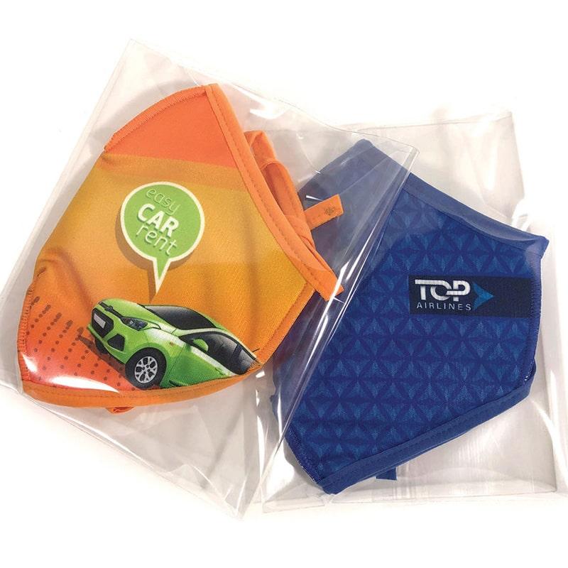 Mascherine personalizzate ecologiche RPET per bambini